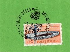 Cachet 1er Jour JO Rome 1960..