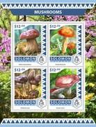 Solomoneilanden / Solomon Islands - Postfris / MNH - Sheet Paddenstoelen 2016 - Solomoneilanden (1978-...)
