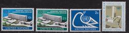 1974   NATIONS UNIES N° 237/ 238  242 243    Nf** .MNH . .Siège De New York - New York -  VN Hauptquartier