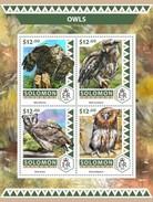 Solomoneilanden / Solomon Islands - Postfris / MNH - Sheet Uilen 2016 - Solomoneilanden (1978-...)