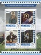 Solomoneilanden / Solomon Islands - Postfris / MNH - Sheet Viktor Vasnetsov 2016 - Solomoneilanden (1978-...)