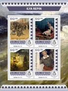 Solomoneilanden / Solomon Islands - Postfris / MNH - Sheet Ilya Repin 2016 - Solomoneilanden (1978-...)