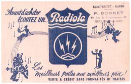 Po R/Buvard    Poste Radiola  (N= 1) - P