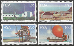 South Africa. 1983 Weather Stations. MNH Complete Set. SG 537-540 - South Africa (1961-...)