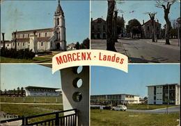 40 - MORCENX - Stade - Cité - Multi Vues - Morcenx