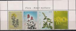2008 Kosovo   Mi. 111-4**MNH   Heilpflanzen