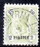 XP2278 - UFFICI AUSTRIACI 1891 , Il N. 28 Usato - Levant Autrichien