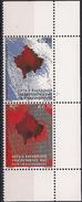 2008 Kosovo   Mi. 95-6**MNH Tag Der Unabhängigkeit