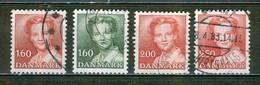 Effigie De La Reine Margrethe II - DANEMARK - Série Courante - 1982 - Oblitérés