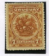 1901 - URUGUAY -  Catg.. Mi. 152 - LH - (I-SRA3207.20) - Uruguay