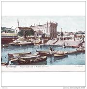 BCNTP3699CPA-FTLD8236TAD.Postal De BARCELONA.Edificios,barcas,aduana,mar.EMBARCADERO EN EL PUERTO DE BARCELONA - Aduana