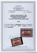 Belgien,23 IIDD,ungebraucht,Attest BPP,nur Wenige Stücke Bekannt - Occupation 1914-18