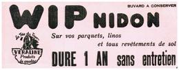 W W/Buvard    Wip Nidon Véraline  (N= 1) - Buvards, Protège-cahiers Illustrés