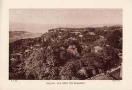 ALGERIE, MIALANA: VUE PRISE DES REMPARTS, Planche Densité = 200g, Format 20 X 29 Cm, (OFALAC) - Géographie