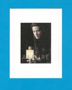 Cartes Parfumées Carte CHANEL ALLURE HOMME De CHANEL RECTO VERSO - Modern (from 1961)