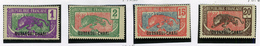1922 - UBANGI CHARI -  Catg.. Mi. 25/26+30/31 - LH - (I-SRA3207.20) - Sud Africa (...-1961)