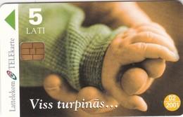 Latvia, D-041, To Be Continued…, Calendar, 2 Scans. - Latvia