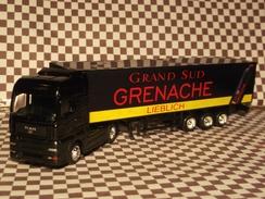 Miniature 1/87-HO- Camion MAN TGA 460 /publicité Vin Grenache - Echelle 1:87