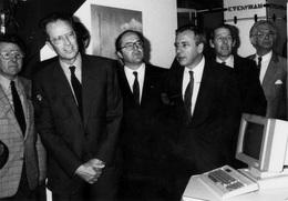 Real Photo / ROYALTY / Belgium / Belgique / Roi Baudouin / Koning Boudewijn / Flanders Technology / Gent / 1985 - Gent