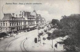 Buenos Aires - Plaza Y Estacion Constitucion - Argentine