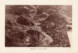 ALGERIE, KRICHTEL, A L'EST D'ORAN, Planche Densité = 200g, Format 20 X 29 Cm, (Moreau) - Géographie