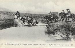 Guerre 1914-1915 - Cavaliers Anglais Traversant Une Rivière - Carte LL N° 185 Non Circulée - Guerre 1914-18