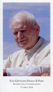 Santino SAN GIOVANNI PAOLO II PAPA, Ricordo Della Canonizzazione 27 Aprile 2014 - PERFETTO N29 - Religion & Esotericism