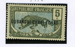 1915 - UBANGI CHARI CHAD -  Catg.. Mi. 4 - LH - (I-SRA3207.23) - Sud Africa (...-1961)