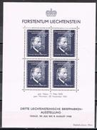 Hojita MNH Vaduz,  Liechtenstein 1938. Rheinberger, HB-3 * - Liechtenstein