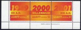 GEORGIA 2000 New Millenium Strip  MNH / **.  SG 334-36 - Georgia