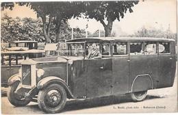 AUTOCAR BERLIET GDHV -- Emilien Lefoulon -11 Rue Biot Paris 17eme -scan Recto-verso - District 17