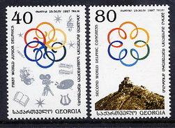 GEORGIA 1997 Delphic Congresses MNH / **.  SG 245-46 - Georgia
