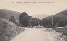 CPA -GOLDBACH, Le Calvaire Et La Route De L'Hartmannswillerkopf - Dép68 - Andere Gemeenten