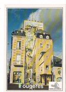 25987 FOUGERES (35) Edition Dubray Conches -519/35 - Fresque Peinte Trompe L'oeil, Creaser - Fougeres