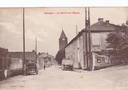 CARTE POSTALE   BOLOGNE 52  La Mairie Et L'église - Autres Communes