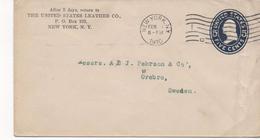 2662  Sobre Entero  Postal  1910, Estados Unidos. New York ,