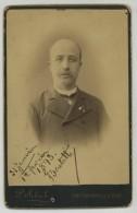 Cabinet 1893 Sebah à Constantinople. Godefroy Barthélémy Emmanuel BADETTI, Vice-Consul D'Angleterre, Suède Et Norvège ? - Photographs