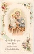 Kalender Calendrier - Devotie Devotion - Saint Joseph - Heilige Jozef - 1905 - Calendriers