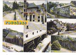 25992 FOUGERES (35) Ed Dubray Conches -C392/35 -vues Diverses Multivues -roue Moulin Eau - - Fougeres