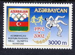 AZERBAIJAN 2002 National Olympic Committee MNH / **.  SG 517 - Azerbaïjan