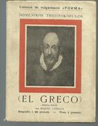 """Domenikos THEOTOKOPULOS : EL GRECO PAR Miquel UTRILLO 2e Edicio Coleccio De Vulgarisacio """"FORMA"""" - Culture"""