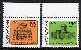 AZERBAIJAN 2000 Towers Of Mardakyan MNH / **.  SG 474-75 - Azerbaïjan