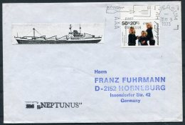 1973 Netherlands Holland Hilversum Ship Cover NEPTUNUS - Covers & Documents