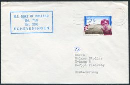 Netherlands Holland Ship Cover M.S. DUKE OF HOLLAND Scheveningen - Covers & Documents