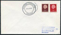Netherlands Holland Ship Cover. Rotterdam BILLITON Nedlloyd - Covers & Documents