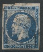 Lot N°34561  Variété/n°14A, Oblit, Perles OUEST - 1853-1860 Napoleon III