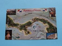 Republica De PANAMA La Tierra Dividida () Anno 19?? ( Zie Foto Voor Details ) !! - Panama