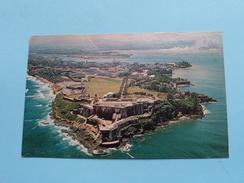 "Greetings From PUERTO RICO Fortress "" EL MORRO "" In Old San Juan () Anno 197? ( Zie Foto Voor Details ) !! - Cartes Postales"