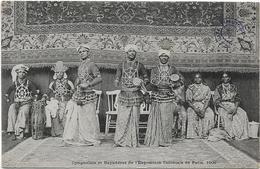 Cynghalais Et Bayadèresde L'EXPOSITION COLONIALE DE PARIS 1906..G - Exhibitions