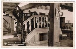 Beaumont, Pensionnat Des Dilles De Marie, Salon De Lecture, Escalier (pk32663) - Beaumont